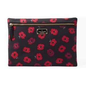 🆕Kate Spade Wilson Road Poppy Pouch Clutch Bag